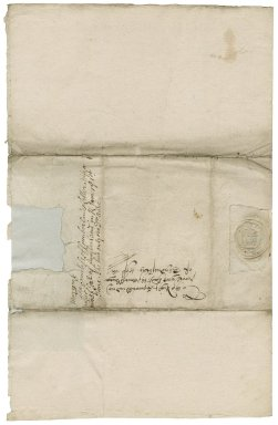 Letter from George Clifford, Earl of Cumberland, to Elizabeth Hardwick Talbot, Countess of Shrewsbury
