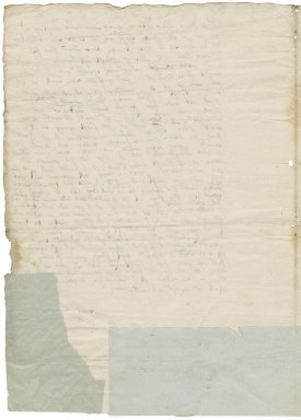 Letter from William Cavendish, Earl of Devonshire, Clare Hall Clare College, Cambridge, to Marcella Linacre, Chatsworth