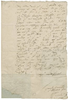 Letter from William Cavendish, Earl of Devonshire, London, to Elizabeth Hardwick Talbot, Countess of Shrewsbury