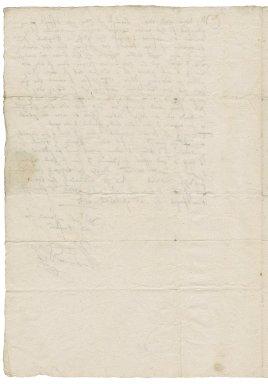 Letter from Walter Devereux, Earl of Essex, Carrickfergus (Knockfergus), County Antrim, Ireland, to George Talbot, Earl of Shrewsbury