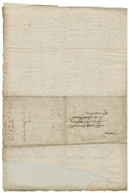 Letter from Hugh Fitzwilliam, London, to Elizabeth Hardwick Talbot, Countess of Shrewsbury, Chatsworth