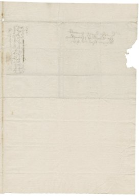 Letter from Robert Devereux, Earl of Essex, written from court, to Elizabeth Hardwick Talbot, Countess of Shrewsbury