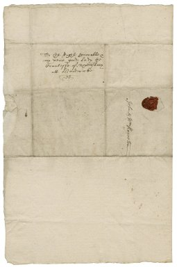Letter from William Kniveton, Mercaston (Myrcaston), Derbyshire, to Elizabeth Hardwick Talbot, Countess of Shrewsbury, Hardwick