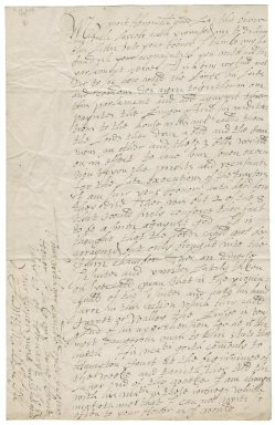 Letter from James Montagu, from court, to Elizabeth Hardwick Talbot, Countess of Shrewsbury