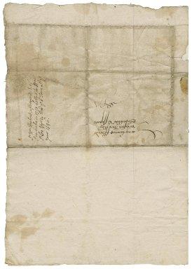 Letter from William Herbert, Earl of Pembroke, Baynard's Castle, London, to Sir William St. Loe