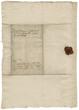 Letter from Roger Manners, Earl of Rutland, Belvoir (Biluoire), Leicestershire, to Elizabeth Hardwick Talbot, Countess of Shrewsbury