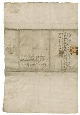 Letter from Sir William St. Loe, Windsor, to Lady Elizabeth St. Loe