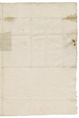 Letter from Sir William St. Loe, Master Man's house in Red Cross Street, London, to Lady Elizabeth St. Loe, Chatsworth