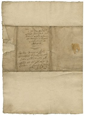 Letter from Sir George Savile, bart., Thornhill, to Avery Copley, Craven, Yorkshire