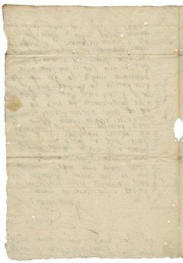 Letter from Lady Elizabeth St. Loe to Francis Whitfield