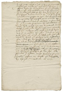 """Letter from George Talbot, Earl of Shrewsbury, Sheffield Castle, to his """"good lordship"""""""