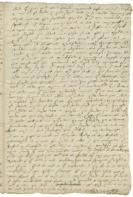 Letter from Gilbert Talbot and Mary Talbot to Elizabeth Hardwick Talbot, Countess of Shrewsbury