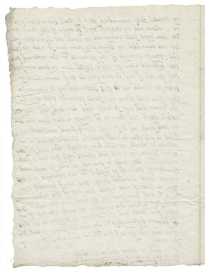 Letter from Elizabeth Wingfield to Elizabeth Hardwick Talbot, Countess of Shrewsbury