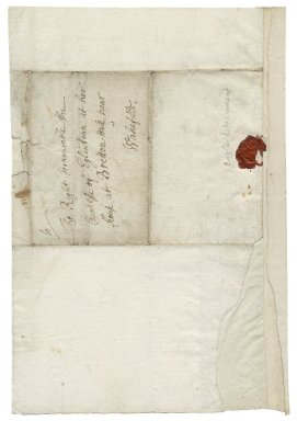 Letter from Peter Burweek, to Grace Montgomery, Countess of Eglinton, Bretton Hall near Wakefield, Yorkshire