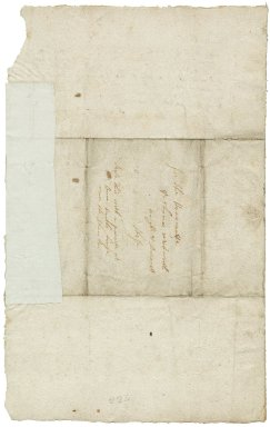 Letter from Nathaniel? Johnston to Sir Thomas Wentworth, bart.
