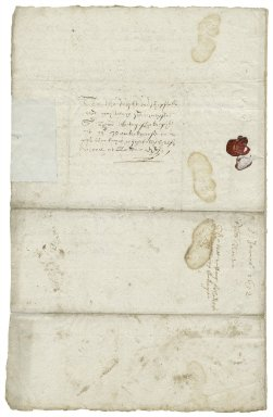 Letter from Robert Norton to Sir Henry Slingsby, at Master Park's house on Fetter Lane, London