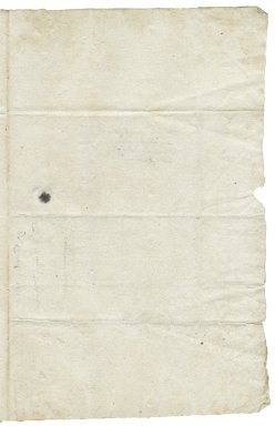 Letter from Sir Francis Trappes-Byrnand to Sir Henry Slingsby, Red House