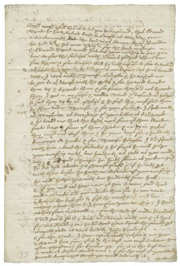 Letter from Christopher Wade to Sir Henry Slingsby