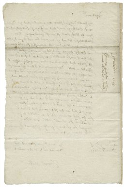 Letter from Edward Wilson, London, to Sir Henry Slingsby?