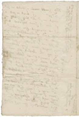 Letter from William Cavendish, Earl of Devonshire, London, to Elizabeth Hardwick Talbot, Countess of Shrewsbury, Hardwick