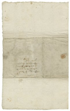 Letter from Peter Benson, Knaresborough (i.e. Knar), Yorkshire, to Sir Francis Trappes-Byrnand.