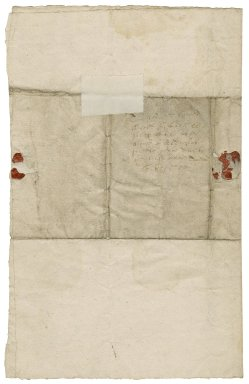 Letter from Sir Humphrey Style, bart., M. de Soubise's house near Salisbury, to Lady Elizabeth Style, Aldersgate Street, London