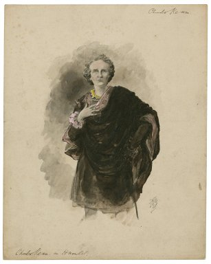 Hamlet, Charles Kean as [graphic] / [Alfred Bryan].