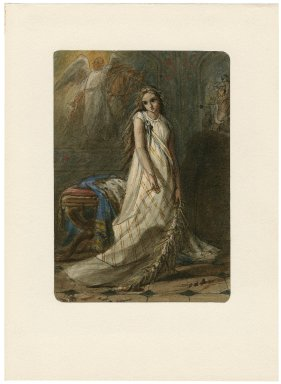 [Hamlet, full-length portrait of Ophelia] [graphic] / Mrs. Criddle fect.