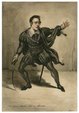 John Howard Payne Esq. as Hamlet [graphic] / Flor.