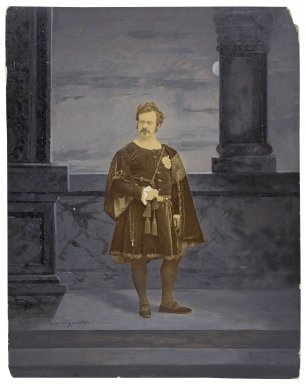 Edwin Forrest as Hamlet [graphic] / Gabriel Harrison.