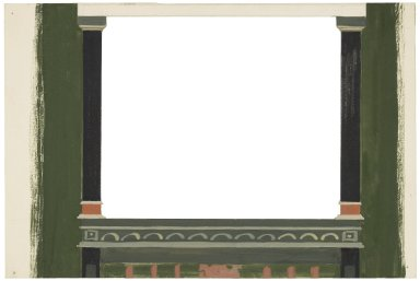 Set design element for St. Georges Theatre