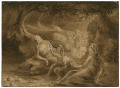 [Titania and the Fairies from Shakespeare's Midsummer night's dream] [graphic].