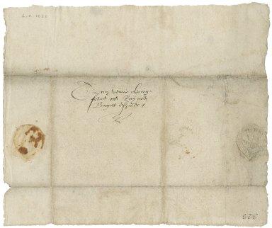 Letter to Richard Bagot : fragment