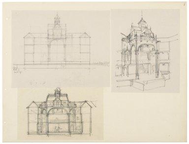 Studies based on a model by John Cranford Adams