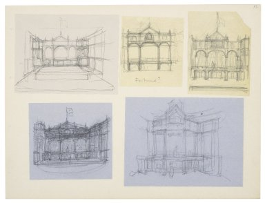 Theater design drawings