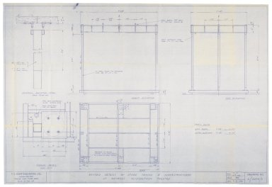 St. Georges Theatre, steel frame structure for stage-houses, Kemp engineers