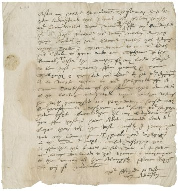 Letter from William Adamson to Richard Dobbyn
