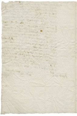 Letter from William Armiger to Roger Townshend (d. 1637)
