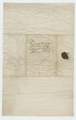Letter from Henry Frederick Howard, Earl of Arundel, to Roger Townshend (d. 1637)