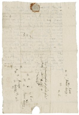 Letter from Anne (Gresham) Bacon to Winifred Dutton