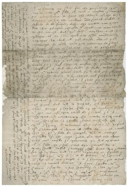 Letter from Sir Edward Bacon to [Nathaniel Bacon]