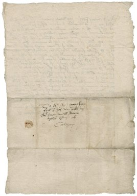 Letter from John Bacon to Nathaniel Bacon