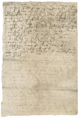 Letter from Nathaniel Bacon to unknown recipient : copy