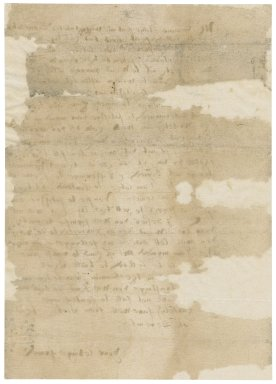Letter from [Nathaniel Bacon?] to Mr. Simons [i.e. Giles Symonds] : copy