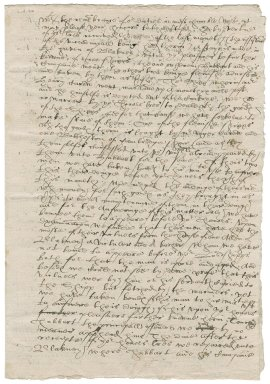 Letter from Nathaniel Bacon and Ralph Skelton to the Privy Council : copy