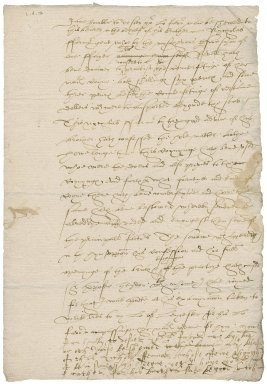 Letter from Nathaniel Bacon to [Sir Nicholas Bacon, lord keeper] : copy