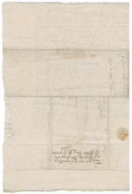 Letter from Nathaniel Bacon to Sir Nicholas Bacon, lord keeper