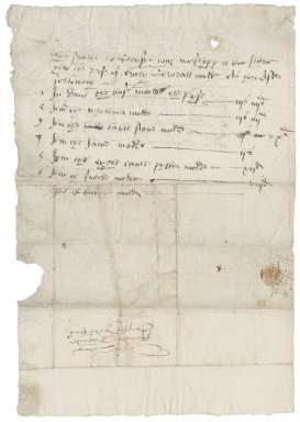 Letter from Nathaniel Bacon to Richard Cressey