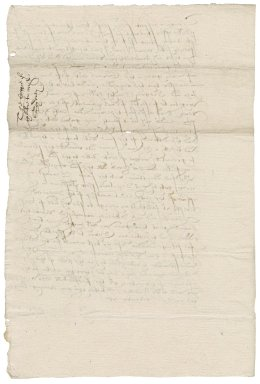 Letter from Nathaniel Bacon to Thomas Sydney : copy
