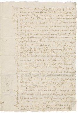 Letter from Nathaniel Bacon to Sir Ralph Sadler, chancellor of the Duchy of Lancaster : copy